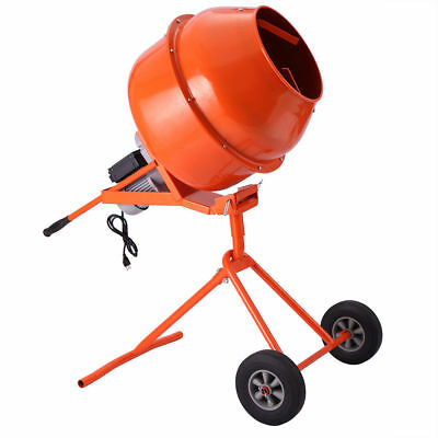 Portable 5Cuft 1/2HP Electric Concrete Cement Mixer (pick up only)
