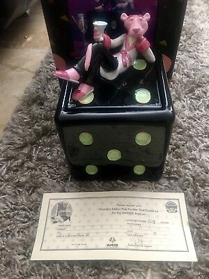 Pink Panther Dice Cookie Jar Numbered Edition from Premiere Edition #1119/4800