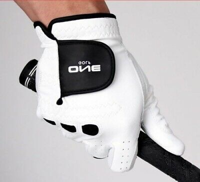 One Golf Premium Cabretta Men's Right Glove Genuine Leather for Left-Handed