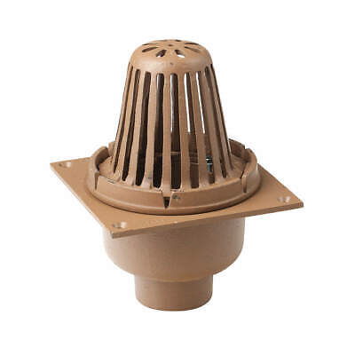 SMITH LIGHT COMMERCIAL Roof Drain,3In Pipe,8-3/4In Length, 110-Y03