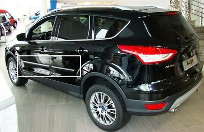Body Side Mouldings Door Molding Protector Trim Cover fit Ford Kuga II 2013-