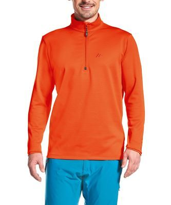 Maier Sports  Fleecepullover  Fleece  Skirolli  Felix  orange  54 - 64 - SALE