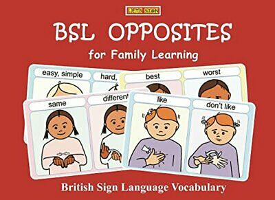 BSL OPPOSITES for Family Learning: British Sign Language Vocabulary (LET'S ...