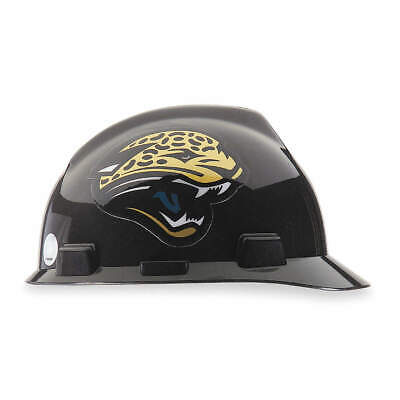 MSA NFL Hard Hat,C, E,Black/Brown, 818397, Black/Brown