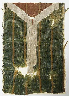 15-16C Antique Textile Fragment - Dyeing and Weaving