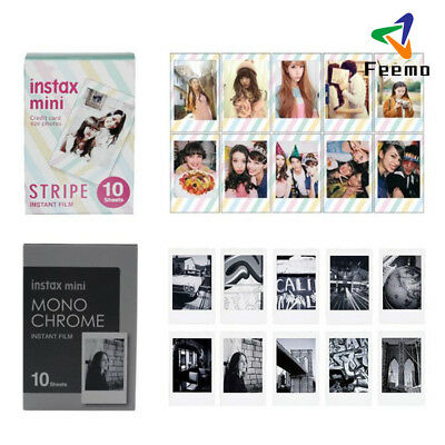 For Instax Mini 8 9 50 70 90 Camera Instant Color Film Photo Sheet New
