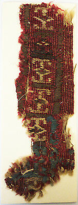 13-15C Antique Textile Fragment - Carpet, Dyeing and Weaving, Kilims