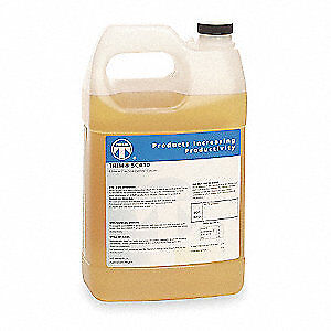 TRIM Coolant,1 gal,Can, SC410/1, Yellow, Orange