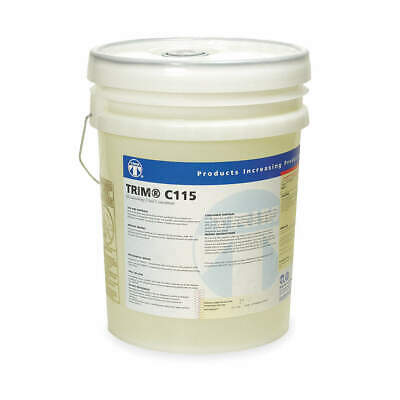 TRIM Coolant,5 gal,Bucket, C115/5, Pale Yellow
