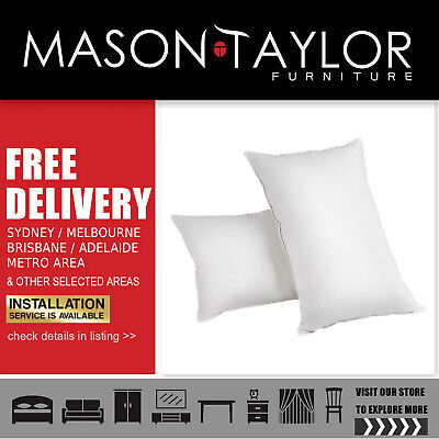 Mason Taylor Giselle Bedding Set of 2 Goose Feather and Down Pillow LocalStore#