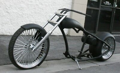 2018 Custom Built Motorcycles Chopper  MMW AMERICAN FAT DADDY  300 REAR , 26 FRONT RIGID  ROLLING CHASSIS
