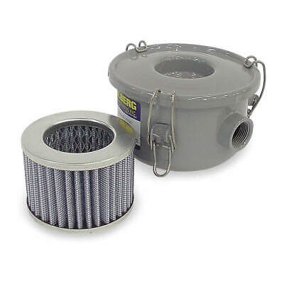 SOLBERG Carbon Steel Filter,Vacuum,3/4 In, CSL-843-075HC