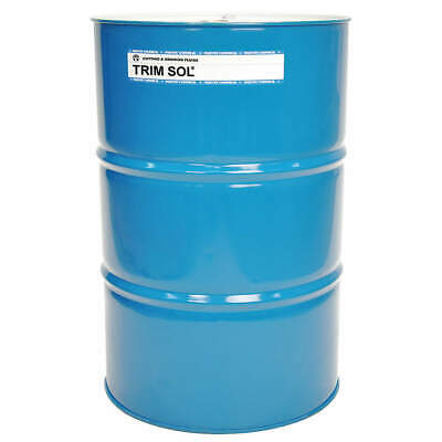 TRIM Coolant,54 gal,Drum, SOL/54, Blue, Green