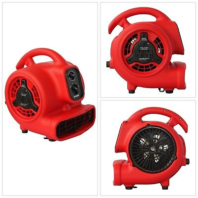 Blower Fan Daisy Chain Timer Speed Mini Air Mover Dryer Floor Built In Outlet