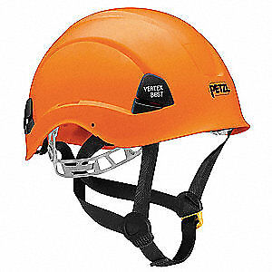PETZL Rescue Helmet,Orange,6 Point, A10BOA, Orange