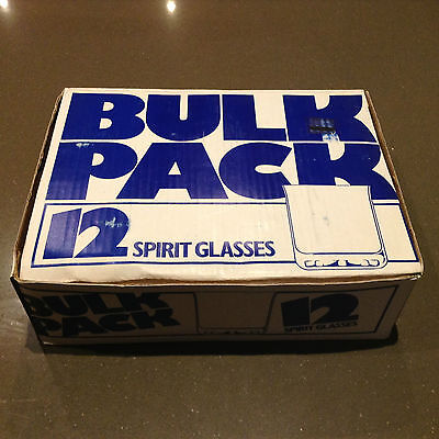 12 x RETRO SPIRIT TUMBLERS: BOXED