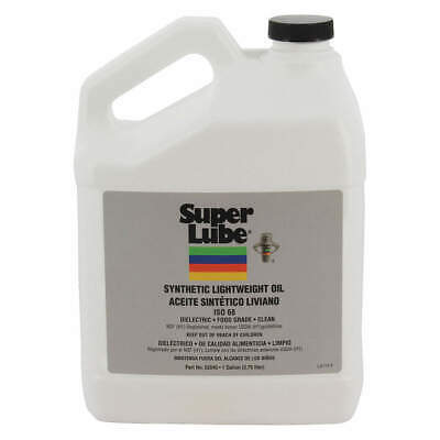 SUPER LUBE Synthetic Oil,ISO 68, 1 Gal., 52040, Clear