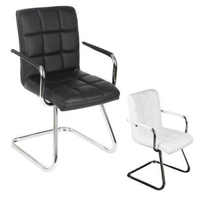 Client PU Leather Style Home Office Visitor Meeting Boardroom Chair Customer