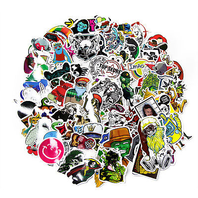300 Random Vinyl Decal Graffiti Sticker Bomb Laptop Waterproof Stickers Skate