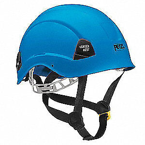 PETZL Rescue Helmet,Blue,6 Point, A10BBA, Blue