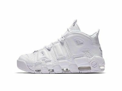 NIKE AIR MORE Uptempo 96 All Blanc Bianco University University University Chaussures  Chaussures a975a0