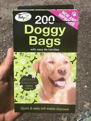 200 Premium FRAGRANCED Poop Bags - NEW & IMPROVED EXTRA STRONG.