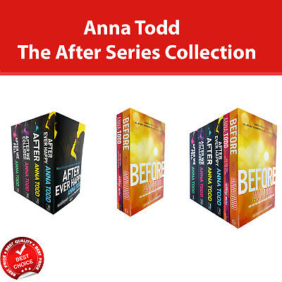 Anna Todd The After Series Collection Books Set pack romance fiction NEW