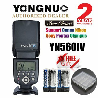 YONGNUO YN-560 IV Universal Wireless Speedlite Flash for Canon Nikon Sony AU