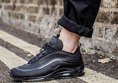 6e924afb721ae0 NIKE AIR MAX 97 Ultra  17 Triple Black Men s Trainers Size 7 8 8.5 ...
