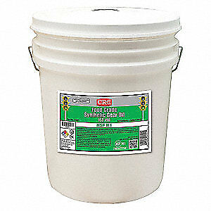 CRC Synthetic Gear Oil,5 gal.,40 SAE Grade, 04551, Clear