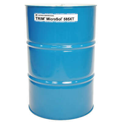 TRIM Cutting Oil,54 gal,Drum, MS585XT/54, Amber