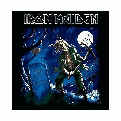 Iron Maiden Benjamin Breeg Greeting Birthday Card Any Occasion Album Official