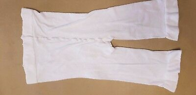 Plus Size Ladies 1 Pair White Anti-chafing Shorts  - slight defect with seam