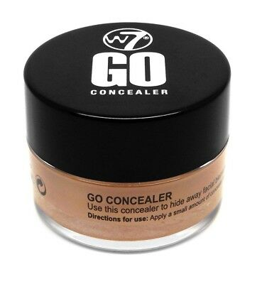 W7 Go Concealer Pot to Provide Skin with the Utmost Coverage - 7 g - Medium Deep