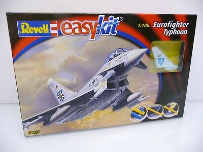 Revell 06625 easy kit 1:100 Scale Model Kit Eurofighter Typhoon Bausatz OVP TOP
