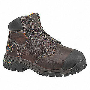 """TIMBERLAND PRO Work Boots,Composite,9M,6"""",Brown,PR, 89697, Brown"""