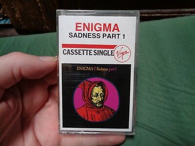 ENIGMA Sadness part 1_used cassette_ships from AUS!_zz151_A9