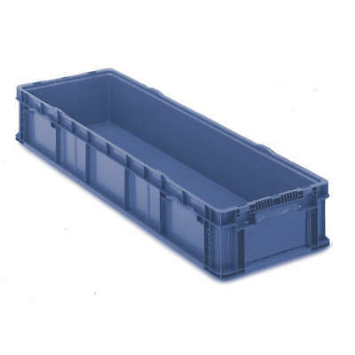 ORBIS Polyethylene Wall Container,48 In. L,15 In. W,40 lb., SO4815-7 Blue, Blue