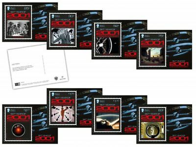 2001: A Space Odyssey Stampcards (WJ39)