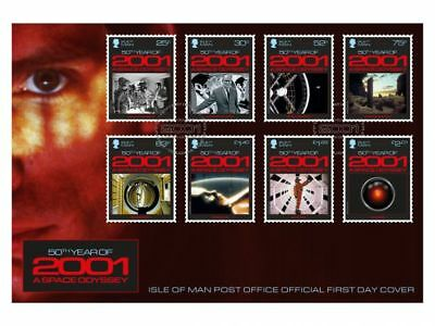 2001: A Space Odyssey First Day Cover (WJ91)