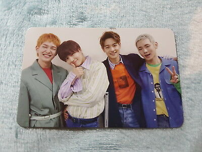 15)SHINee 6th Album The Story of Light EP.2 I Want You Group Type-A Photo Card