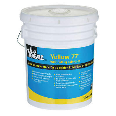 IDEAL Wire Pulling Lubricant,5 gal. Bucket,Ylw, 31-355, Yellow
