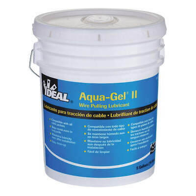 IDEAL Wire Pulling Lubricant,5 gal Bucket,Blue, 31-375, Blue