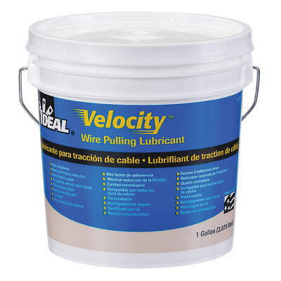 IDEAL Wire Pulling Lubricant,1 gal. Bucket,Wht, 31-277, White