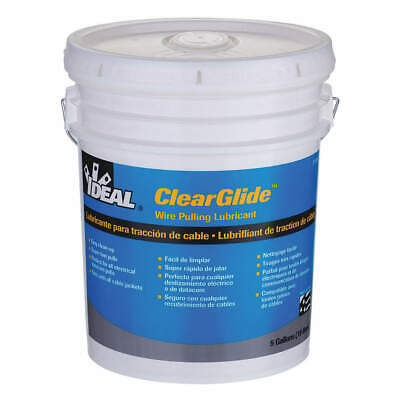 IDEAL Wire Pulling Lubricant,5 gal. Bucket,Clr, 31-385, Clear