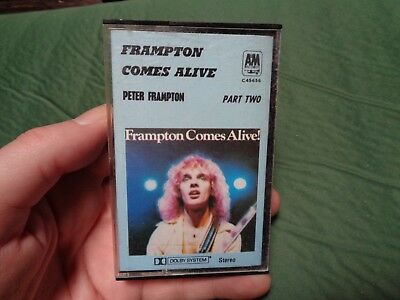 PETER FRAMPTON COMES ALIVE_cassette TWO only_used_ships from AUS!_zz151_A9