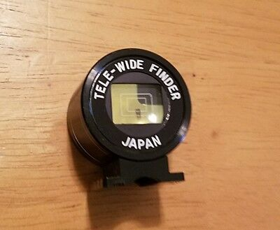 Tele-wide finder japan vintage camera acessories Yashica tele wide viewfinder