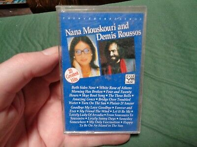 NANA MOUSKOURI & Demis Roussos_used cassette_ships from AUS!_zz151_A9