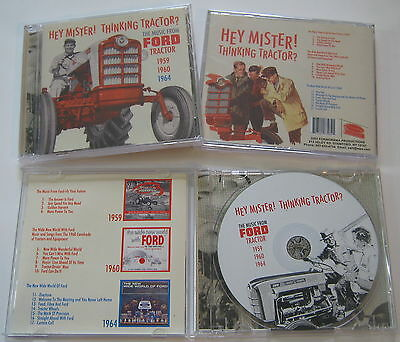 The Music From Ford Tractor- NEW CD - Hey Mister! Thinking Tractor?