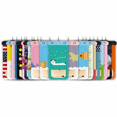 Lot* Cartoon Cover Waterproof Phone Case For iPhone 7 6S Coque Pouch Swim Bag